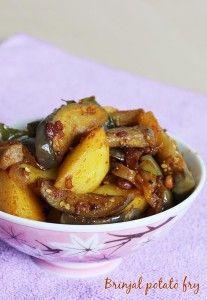 Brinjal fry recipe | Vankaya fry | Brinjal recipes