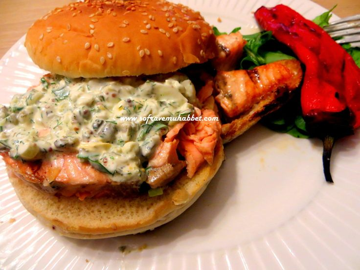 Sofra ve Muhabbet: SOMON STEAK BURGER – TARTAR SOS İLE