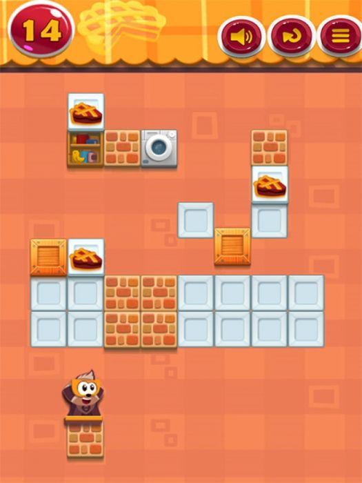 Pie Eater является увлекательной и сложной игры мозг тизер. В 36 привлекательных уровней, вы решить логическую головоломку с постепенно возрастающей сложностью. Вы не сможете остановиться, пока не закончите все из них. Ваша миссия состоит в том, чтобы поставить пирог собаке, перемещая его в положение собаки.