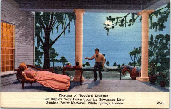 White Springs Florida Stephen Foster Memorial Diorama
