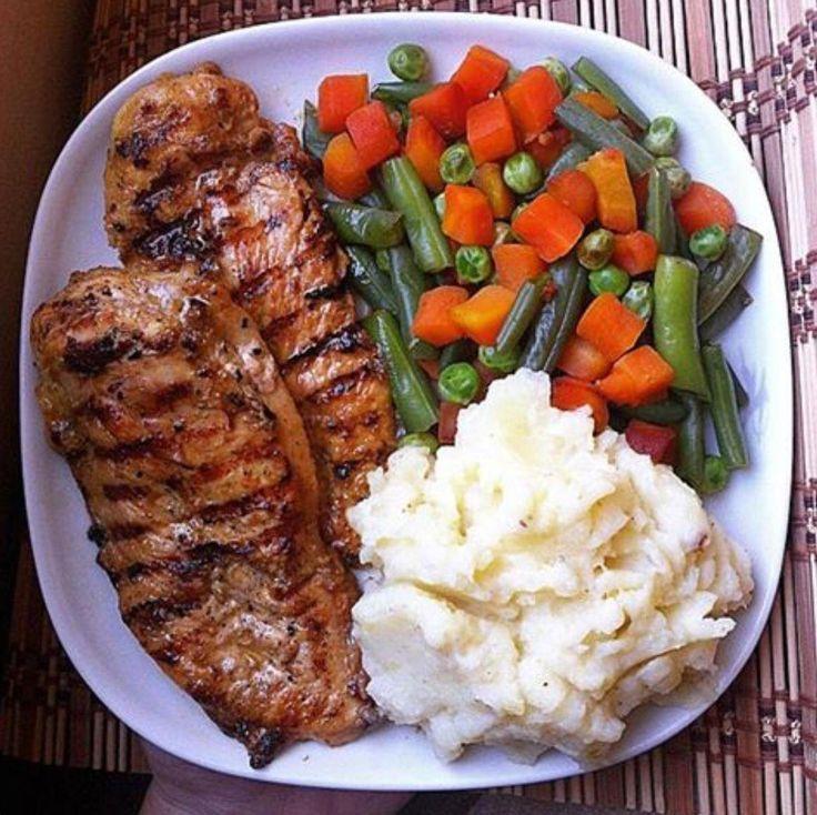 Вкусный ужин на диеты