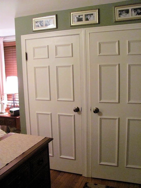 Faux 6 Panel Door Would Make A Huge Difference On Our O Doors