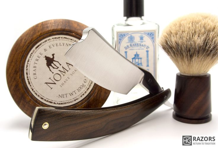 "SOTD with a 10/8"" custom straight razor"