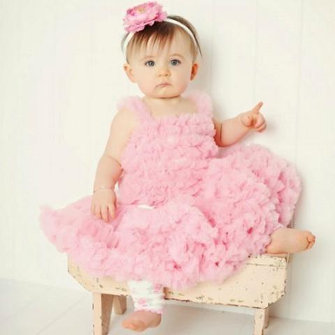 Princess Pink Soft Petti Tutu Skirt Bloomers