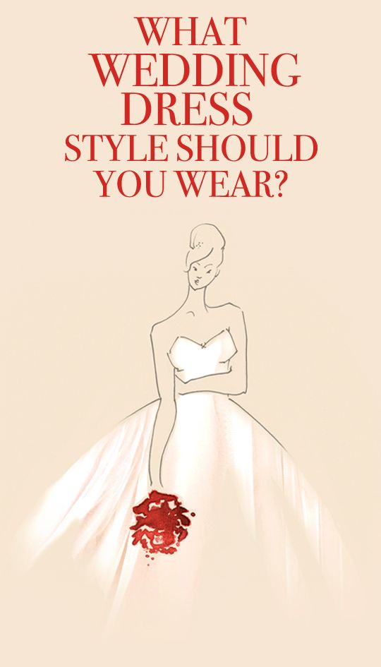 What Wedding Dress Style Should You Wear?  Take the quiz and find out...