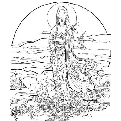 Mejores 7 imágenes de 原创作品:天神与佛祖插画、The Buddha Gods ...