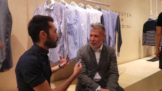 My interview with Nick Wooster and Luigi Lardini at Pitti Uomo 86 at http://www.menstylefashion.com/pitti-uomo-interview-with-nick-wooster-and-luigi-lardini/