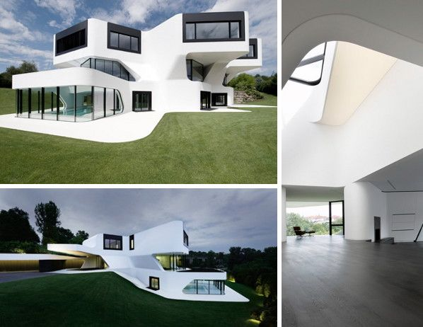 Modern Residential Architecture in Germany - Dupli.Casa futuristic design