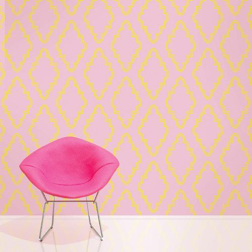 WallCandy Arts Quatrefoil Self-Adhesive Wallpaper - If only everything in  life were removable and - Stickable Wallpaper Design Your Life