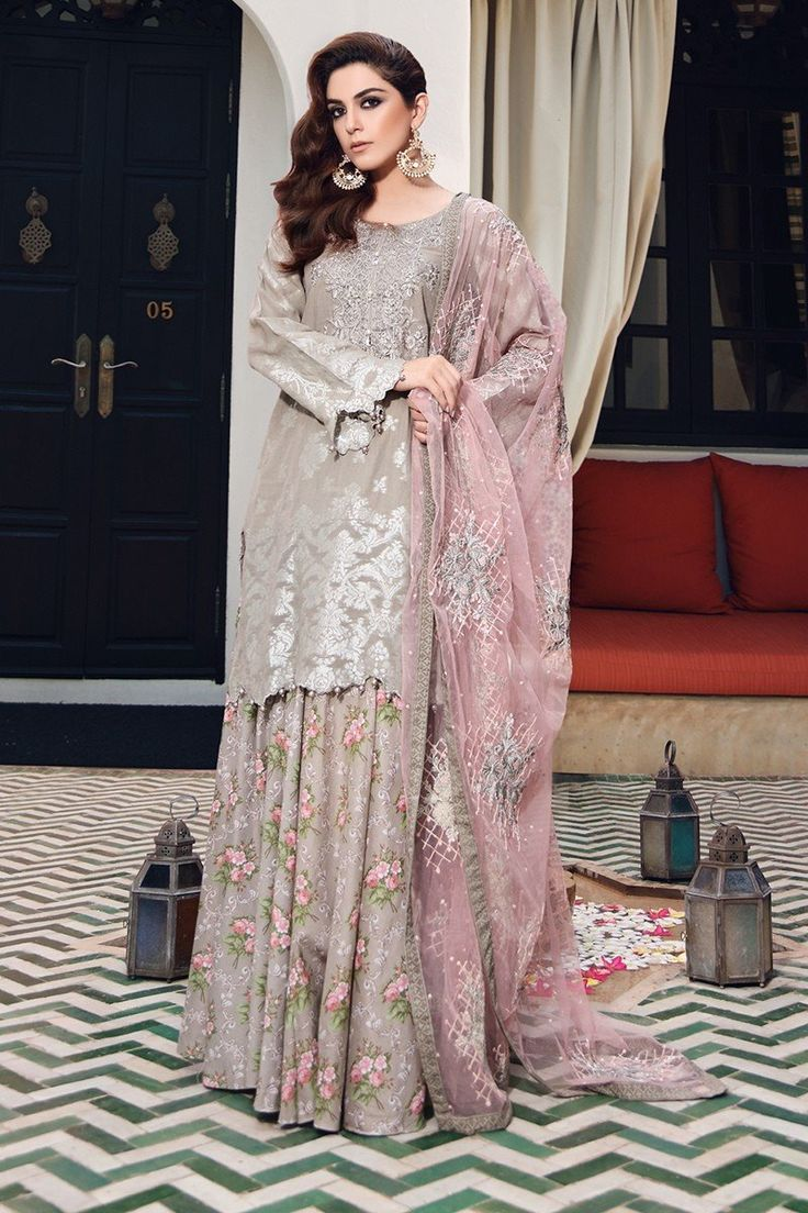 Buy Unstitched Lawn D-407-Grey Online at Maria.B Pakistan's most diverse designer fashion brand.