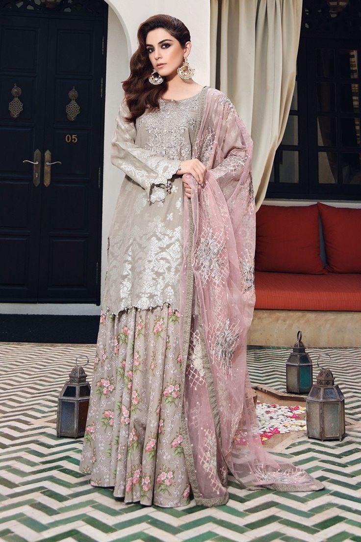 Buy Unstitched Lawn D-407-Grey Online at Maria.B Pakistan's most diverse designer fashion brand.