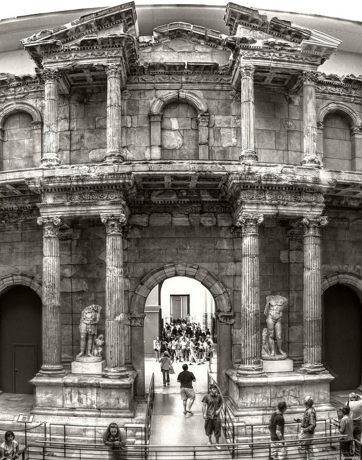 Berlin-Market Gate of Miletus by pingallery on DeviantArt