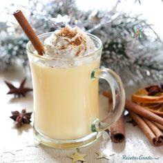 Ponche crema sin huevo #Navidad #RecetasparaNavidad #RecetasNavideñas #CenadeNavidad #CenadeNocheVieja #CenadeNocheBuena #Bebidas