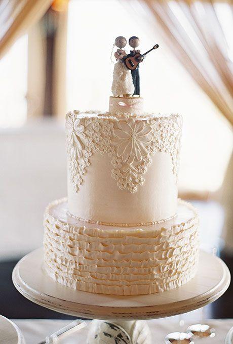 unique wedding cake topper ideas