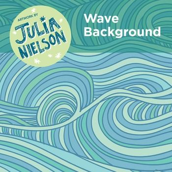 This Wave background is hand illustrated and has been supplied in dark and light…