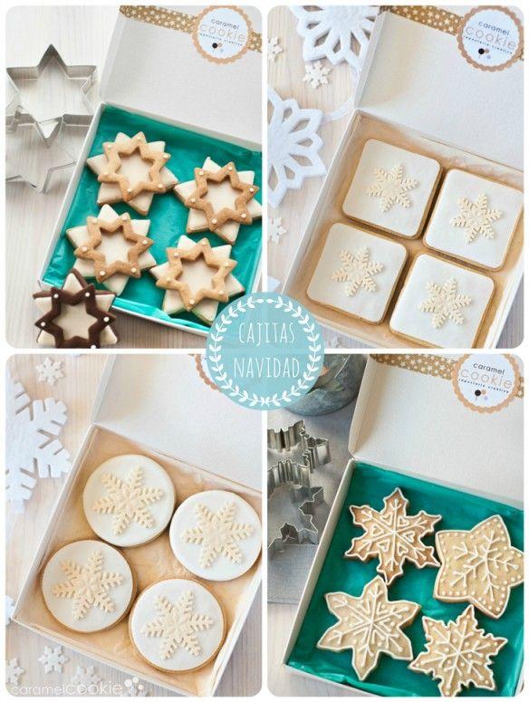 Caramel Cookie - Galletas para regalar en Navidad