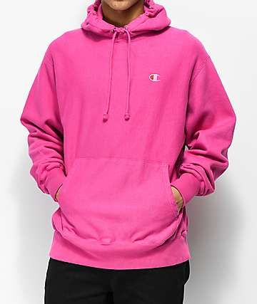 3c26f59f648b4c Champion Reverse Weave Pink Pigment Dyed Hoodie in 2019