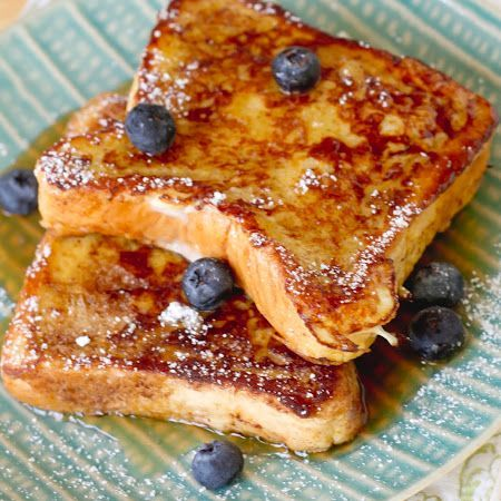 Blueberry Bourbon French Toast