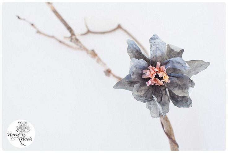 flores de papel, paper flower, Nora Nook