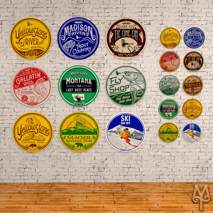 New and Vintage fly fishing and Montana themed wall signs by Montana Treasures...The perfect addition to your cabin decor. Shop now!
