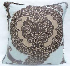 Schumacher Fabric ~ Cushion Cover ~ 'Shalkar',  Linen Mix, Sepia Colourway