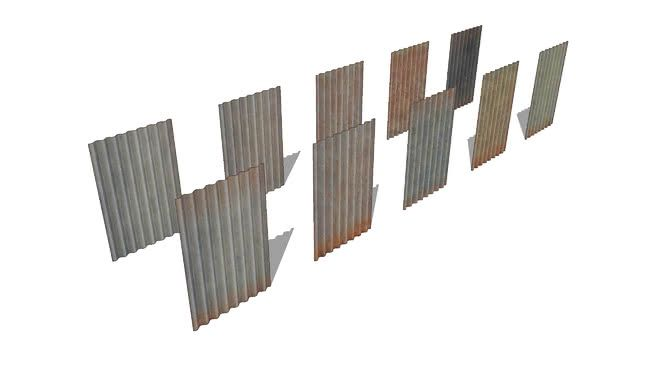 Corrugated Iron Steel Sheets 3d Warehouse Iron Steel Corrugated Iron