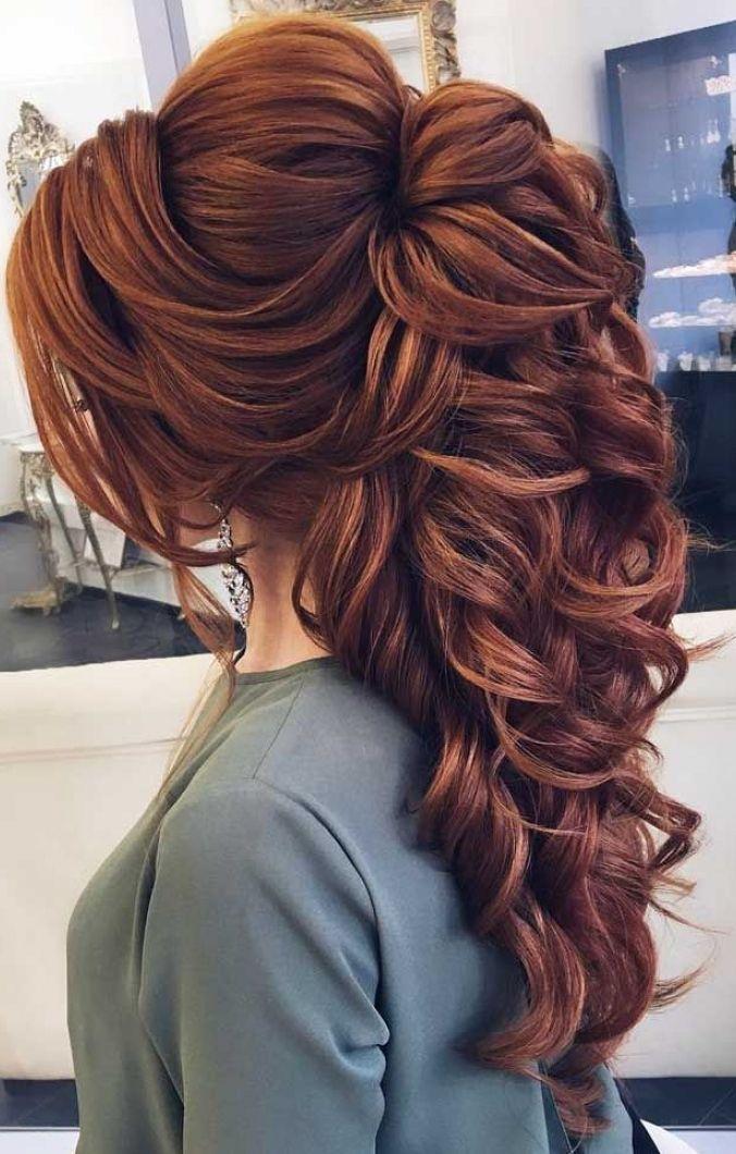 19 Peinados elegantes pelo largo suelto