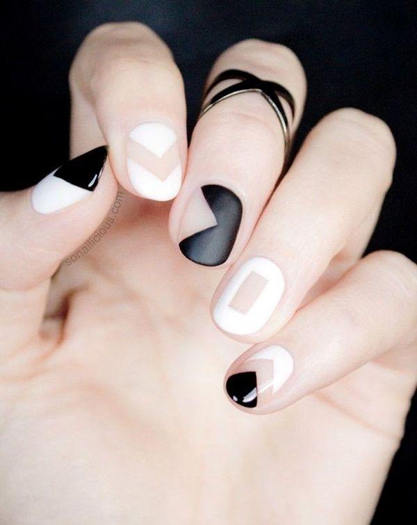 Simple Nail Art Designs for Short Nails17