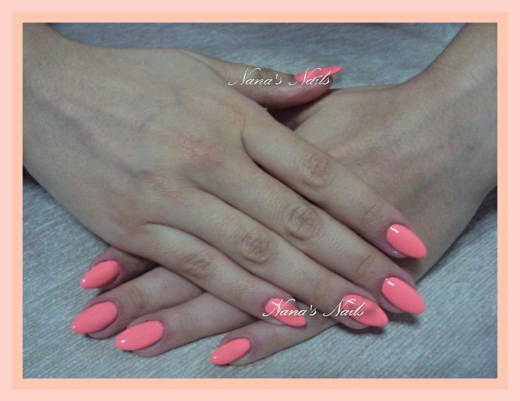 Almond Gel Nails