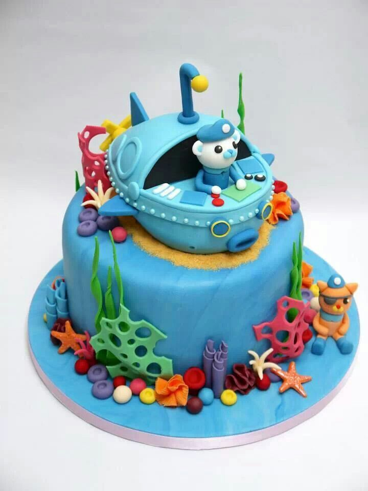 BAKELL.COM - We had to share this adorable Octonauts Cartoon cake! Bakell is the leading online retailer for ALL of your baking, crafting  and cake decorating supplies!! No middle-man, no fancy packaging. We keep our costs low so we can keep our prices low!   #octonauts #octonautscake #octonautsparty #decorating_supplies #freeshipping #custom_molds #cookie_cutters #Bakell #buy_bakell #bakell_com