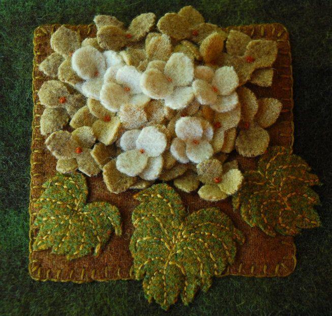 Ideeën over wool applique patterns op pinterest