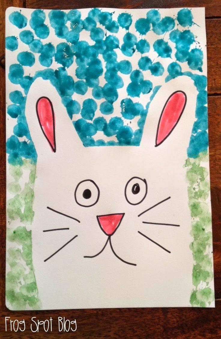 Easter Bunny Kids Art