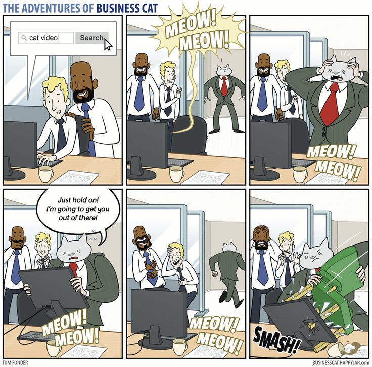 The Adventures of Business Cat by Tom Fonder for May 1, 2017 | Read Comic Strips at GoComics.com