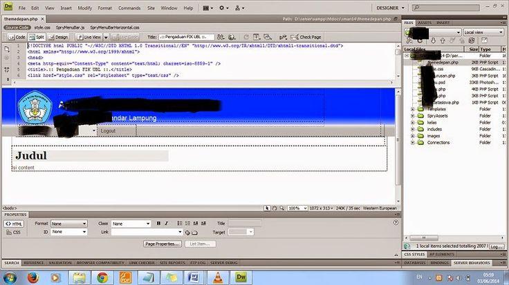 Cara Membuat Desain Web Dengan PHP