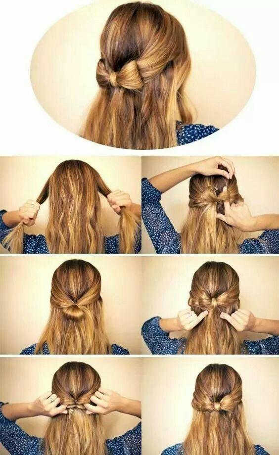 Binden Sie mit Ihrem eigenen Haar #binden #eigene…