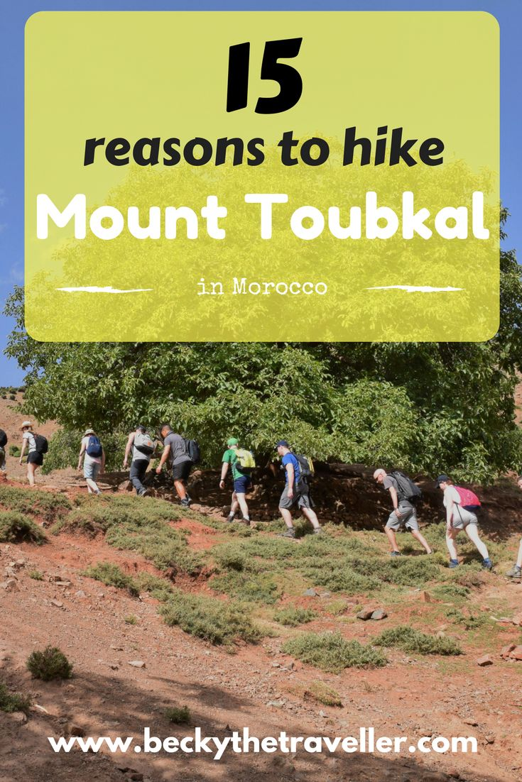 Mount Toubkal in the Atlas Mountains is Morocco's highest mountain. Check out these great reasons to add this hiking challenge to your bucket list. Trekking | Mountains | Adventure | Challenge