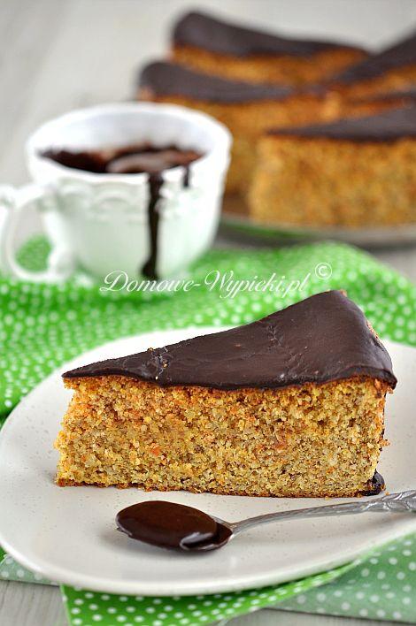 Ciasto orzechowo- marchewkowe