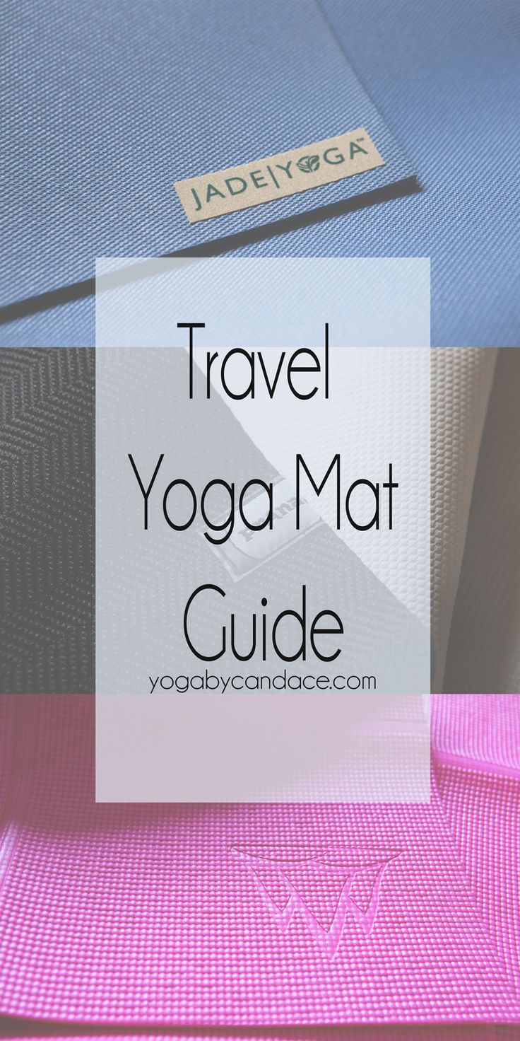 Pin now, read later! Discover three of the top travel yoga mats! Featuring: jade yoga, prana and khataland
