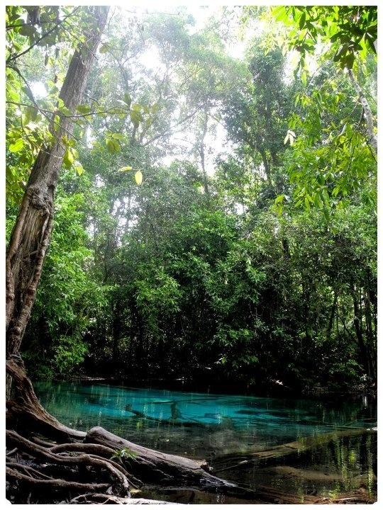 Cristal Pool at Krabi