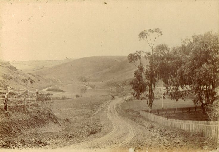 Possibly around the Barwon River near Geelong.  One of a group of six photographs that ended up in Newcastle, NSW.
