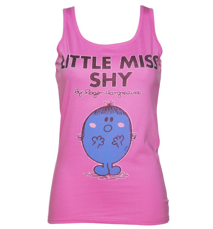 TruffleShuffle Womens Little Miss Shy Little Miss Vest Show your appreciation without saying a single word! If youre a fan of this rosy cheeked character, then this is a must have! A great vest, paying homage to Little Miss Shy! http://www.MightGet.com/february-2017-3/truffleshuffle-womens-little-miss-shy-little-miss-vest.asp