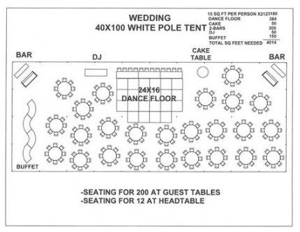 Wedding reception layout floor plans tent 37+ Ideas for ...