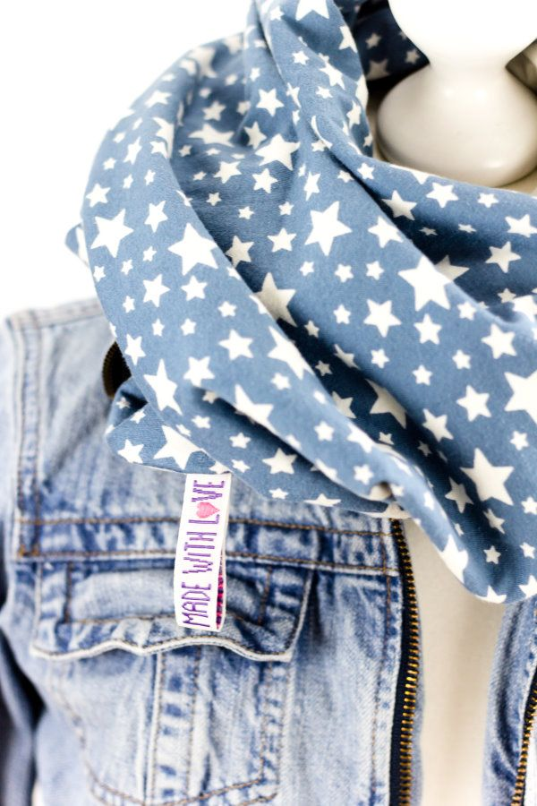 DIY Loop Schal | Loop scarf http://titatoni.blogspot.de/