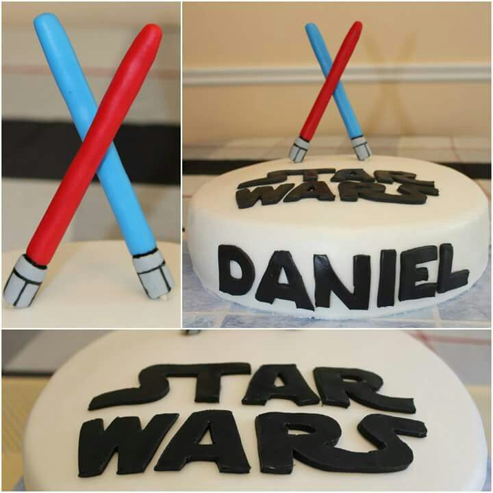 Star Wars Cake.