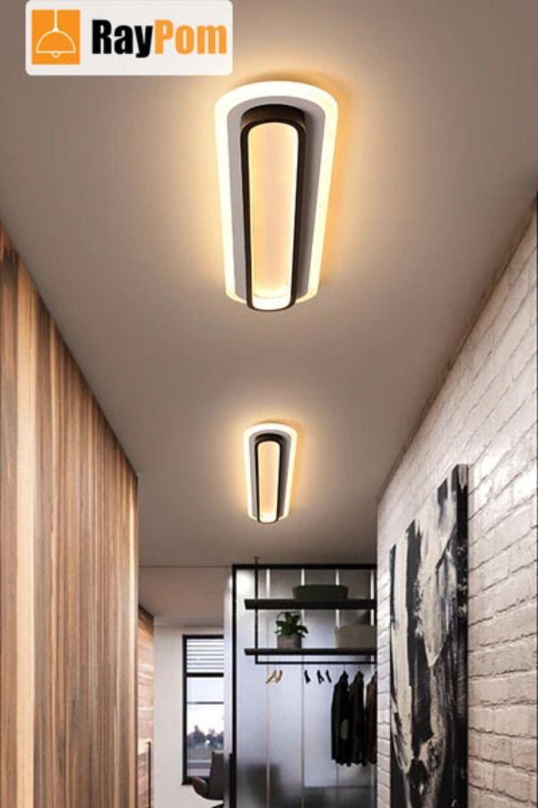 Modern Led Ceiling Lights For Living Room Corridor White Black Surface Mounted Lamp Ceiling Lights Modern Led Ceiling Lights Led Ceiling Lights