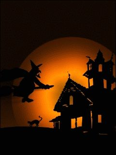 download animated 240x320 halloween cell phone wallpaper category holidays - Free Animated Halloween Cards