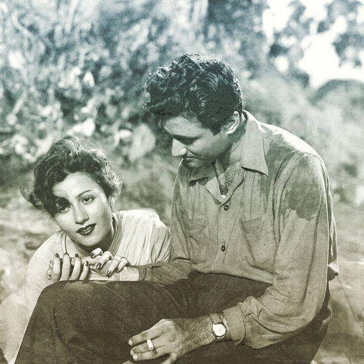 Dev Anand and Madhubala
