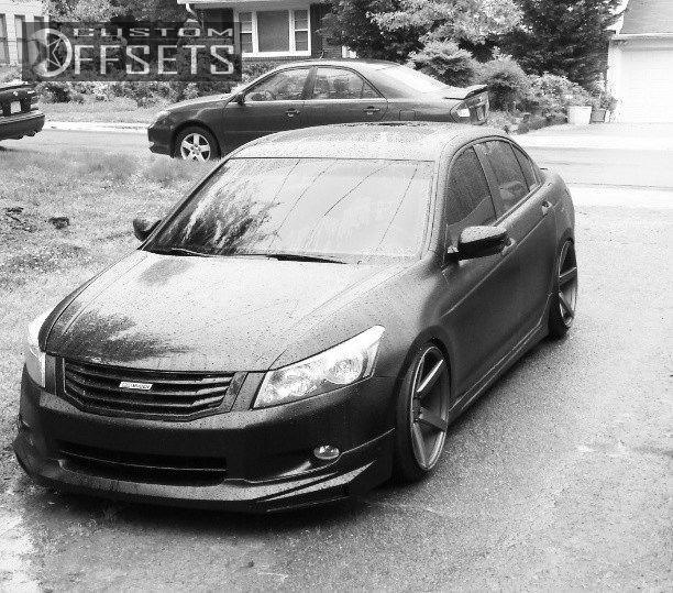 Wheel Offset 2010 Honda Accord Hellaflush Dropped 1 3