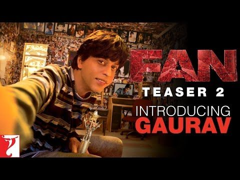 Shahrukh Khan Looking Unrecognizable In The Fan Teaser!