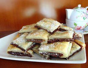 Quadrotti nutella|ricetta golosa